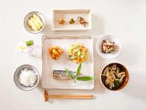 10月~はこちら♪■朝食付/炊き立ての石垣田コシヒカリをパクパクッ!からだに優しいお手製朝ごはん
