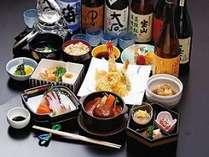 和会席夕食(イメージです)
