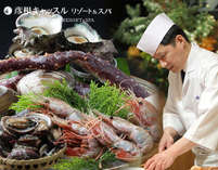 旬の魚介類を現地直送で仕入れております。美味しい旬味をご堪能ください。