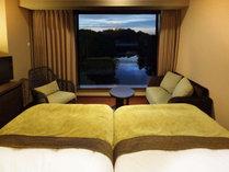 キャッスルビューツインルーム/彦根城を眺める静かな時間のなかで、素敵なひとときをお過ごしいただけます