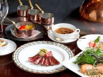 ★セゾンコース/滋賀のブランド近江牛をメインに新鮮な魚介類や野菜を用いて鉄板シェフが腕を振るいます。