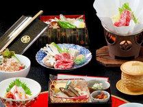 ★大老御膳会席/味だけでなく見た目にもこだわった特製料理です。