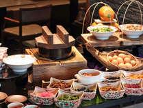 ★健康あさごはん/和食・洋食どちらもご堪能頂けます和洋ブッフェです。
