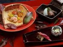 近江牛と松茸のすき焼き付き 秋の美味会席