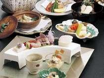 穣りの信濃路会席 料理の一例