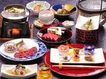 5種はあなたが選べる!選択式会席料理