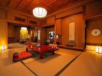 【桧風呂付離れ特別室★雪見荘】骨董品のような日本の美意識を凝縮した特別室