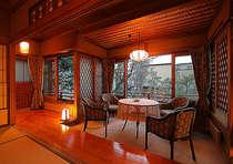 【桧風呂付離れ特別室★雪見荘】美空ひばりが滞在した特別室。