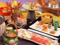 <松茸・信州特選和牛>信州の秋の素材を目と舌で味わう本格的な会席料理をお楽しみください。【2012年秋】