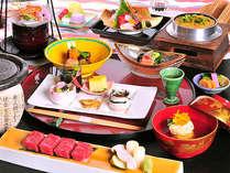 信州の旬の素材を目と舌で味わう本格的な会席料理をお楽しみください。【2012年 春】