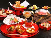 ご夕食のお料理イメージ 新春を寿ぐ、目にも優しいお料理の数々