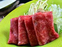 【黒毛和牛豆乳しゃぶ】ひと口ごとに広がる、牛肉の旨味、豆乳のまろやかな甘みでとろける旨さ。