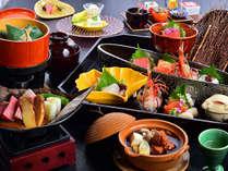 """""""量より質の美味少量会席コース""""上記は11/30までのお料理。12/1~はお献立が変更となります。"""