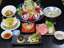 【1泊2食付】夕食グレードアッププラン 【竹】 駅から車で15分♪高崎市街を一望の天然温泉♪