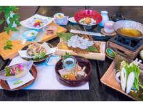 新メニューの蛸会席は、明石の高級食材「明石蛸(あかしだこ)」を使用!