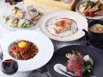 【まるで海の中!】選べるデザート☆一万匹の熱帯魚と楽しむディナー付き(夕食のみ)