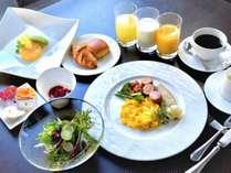 ■ウェスタンスタイルの朝食セット