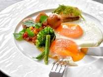 ■朝食セットメニュー■選べるこだわり卵料理~フライドエッグ~