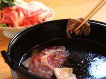 【上州牛すき焼き】極上のお肉、霜降り上州牛をぜひお召し上がりください