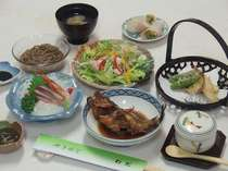 夕食の料理例
