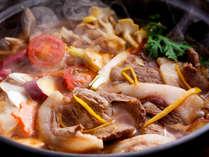 淡路の天然猪肉を贅沢に味わうジビエ鍋≪料理イメージ≫