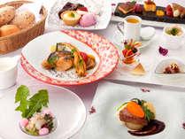 【早得21】<レストラン海菜美>特選牛と旬の海幸を愉しむフレンチコース&地産の選べる4種の朝ごはん