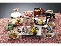 磯味コース夕食イメージ写真 季節の海の幸を使った会席料理