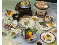 夏の磯味コース夕食イメージ12品
