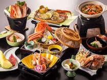 【日本海の冬といえば!の蟹2杯付!】千畳苑おすすめ!カニ会席