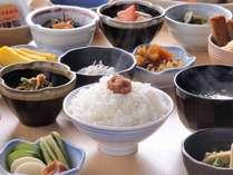 【好評!】地場産品を生かした 和洋30種朝食付プラン