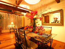 【PRIVATE SUIT】 花屋が手掛けるゲストルーム。季節折々の植物がプライベート空間を演出…