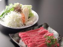 【すき焼き150g】あつあつ★とろける那須牛★美味しいタレでお召上がりを(1泊2食)