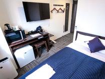 ◆シングルルーム◆全室シモンズベッド完備!
