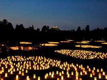 8/4~14夏の10日間だけの【燈花会】。ご夕食後にお散歩してはいかがでしょうか。