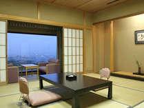 【和室10畳一例】5名様までお寛ぎいただける広々としたお部屋です。