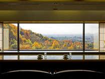 【お茶処】夕食後は、奈良の夜景を愛でながら、岩盤足癒で心地よい時間をお楽しみいただけます。