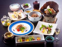 【9月限定会席一例】初秋の奈良を思わせるお料理の数々。松茸も味わえる大満足のコースです!
