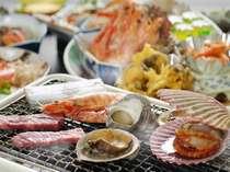 【海の幸を豪快に!】海側客室と海賊焼料理プラン【たっぷり満喫♪】
