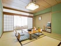 海側和室の一例。寛ぎの和風のお部屋。)