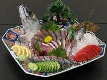【1日4組限定♪】◆当地ブランド魚を食す!◆土佐清水サバ姿造り付き会席