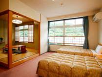【山側和洋室指定】ベッドご希望の方に!和洋室&あしずり会席料理プラン♪