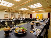 【お食事処】[宴会場] 大人数でもご安心!カラオケも楽しめる大広間です