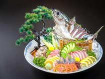 """【一品料理】[土佐の清水サバ姿造り]""""幻のサバ""""と言われるブランド鯖の素晴らしい鮮度を召し上がれ!"""