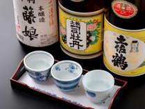 【高知の地酒】 新鮮な魚によく合う地酒をご用意いたしております