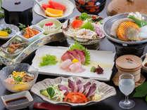 """◆【あしずり会席】 高知に来たなら""""まずは知っておきたい"""" 高知・足摺の美味を楽しめる基本の会席♪"""