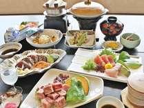 【土佐和牛陶板焼会席】お肉もお魚も愉しみたい方に。お肉は陶板でお好みの焼加減でどうぞ♪