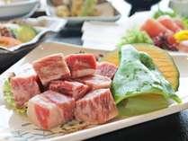 【土佐和牛陶板焼会席】お好みの焼加減でお召し上がり頂けます。