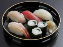【特選会席】富山湾で獲れる新鮮な旬の魚と富山米を活用したお寿司
