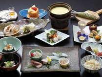 【三楽園会席(料理例)】体の内側からもキレイに♪魚や肉を加えても800kcalとヘルシー