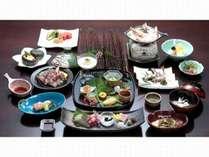 厳選和牛タジン蒸付会席(料理例)